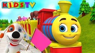 Chuk Chuk Karti Rail Chali   Hindi Nursery Rhymes For Children