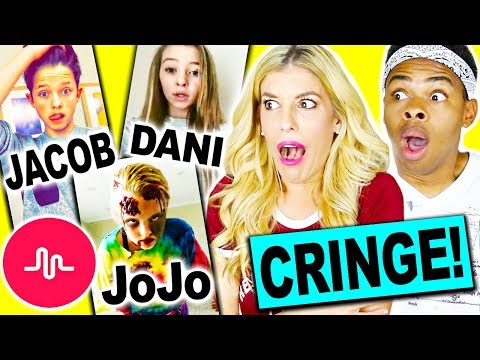 REACTING AND RATING CRINGY MUSICAL.LY S