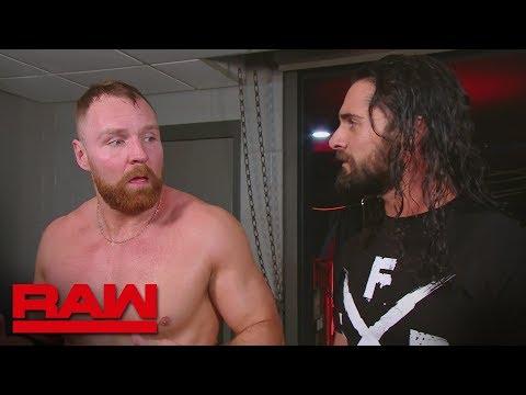 Xxx Mp4 Dean Ambrose Wonders Why Seth Rollins Didn't Have His Back Raw Feb 18 2019 3gp Sex