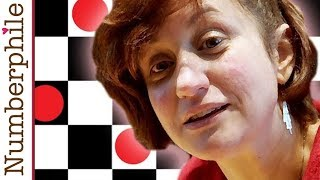 Pebbling a Chessboard - Numberphile