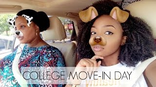 COLLEGE MOVE-IN DAY 2016 VLOG