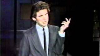 YOUNG DENNIS MILLER ON LATE NITE TALK SHOW 1980s 2