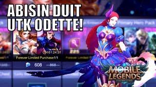 BELI DIAMOND UNTUK ODETTE!!! • Mobile Legends Indonesia