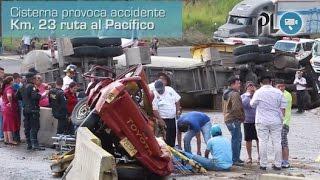 Dos muertos deja el accidente en ruta al Pacífico