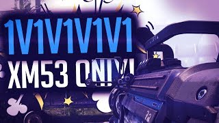 DE XM-53 LAUNCHER ONLY 1v1v1v1v1 MATCH! (COD: Black Ops 3)