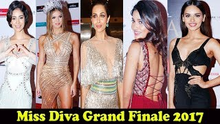 Lara Dutta & Malaika  Arora At Miss Diva Grand Finale 2017 as Judge