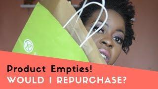 June Product Empties!   Would I repurchase?   OmogeMuRa