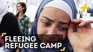 Syrian Girl Flees Refugee Camp To Find Her Parents
