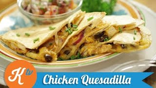 Resep Ayam Meksiko (Chicken Quesadilla Recipe Video) | THERESIA
