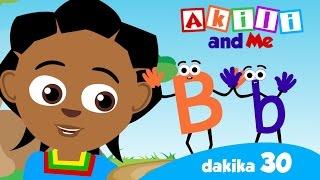 Alfabeti na Herufi kwa Kiswahili na Kiingereza (Part 1) | LEARN THE SWAHILI ALPHABET! | Akili and Me