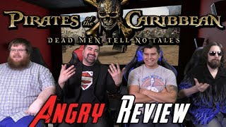 Pirates of the Caribbean Dead Man Angry Review