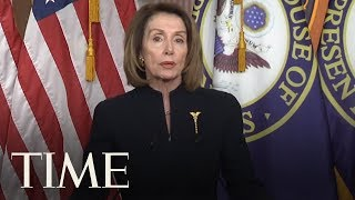 Nancy Pelosi Fires Back At Trump