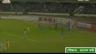 Rubel Miya's Amazing Backvolley goal against Dhaka Abahani-7.5.2016
