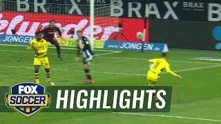 Monchengladbach vs. Dortmund | 2017-18 Bundesliga Highlights