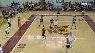 Iowa at Minnesota - Volleyball Highlights