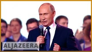 🇷🇺 Russian elections: Putin expected to win fourth term as president   Al Jazeera English