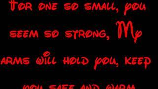 Youll Be In My Heart  Tarzan Lyrics Hd