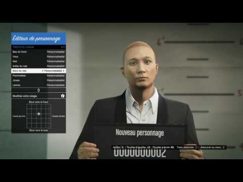 GTA Online Character Creation How to create an asian guy