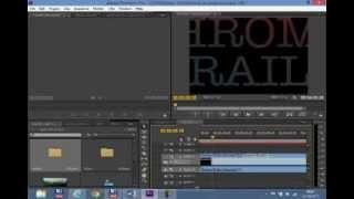 Aula 1 - Adobe Premier