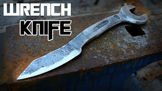 How to forge a Wrench Knife