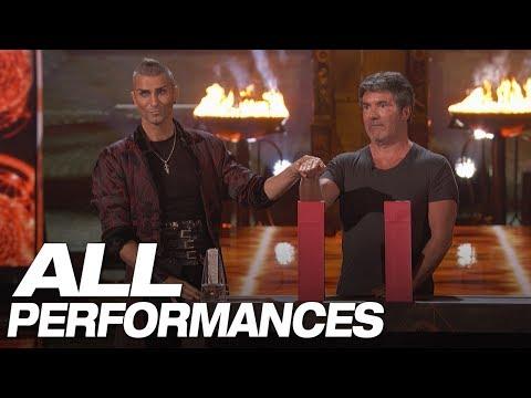 Whoa Dangerous Magic From Aaron Crow All Performances America s Got Talent 2018