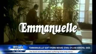 'Emmanuelle' soft porn movie star, Sylvia Kristel dies