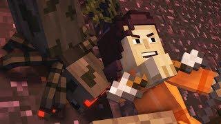 Minecraft Story Mode Season 2 Episode 3 ALL ENDINGS (Bad Ending & Good Ending) POST CREDIT SCENE