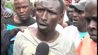 Mshukiwa Ajitosa Baharini Kutoroka