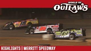 World of Outlaws Craftsman Late Models Merritt Speedway August 27, 2017 | HIGHLIGHTS