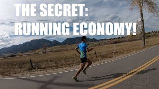 THE MOST IMPORTANT FACTOR IN DISTANCE RUNNING SUCCESS: RUNNING ECONOMY   Sage Canaday Training Tips