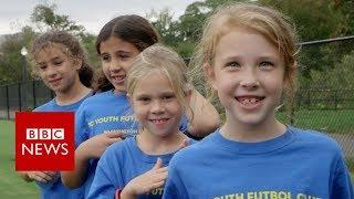 World Cup: Kids react to USA football team exit - BBC News