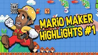 Is this My FIRST HIGHLIGHT Video? - [Super Mario Maker Highlights #1]