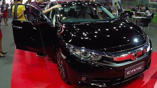 New Honda Civic 2016 video review interior and exterior