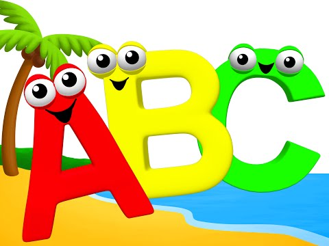 Letters of the Alphabet & More ABC Toddler Collection Kids 3D Songs Learn Phonics Sounds