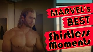 Marvel's Best Shirtless Moments