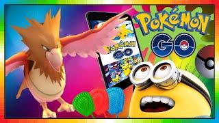 Pokemon go play - Habitak - Spearow - Piafabec