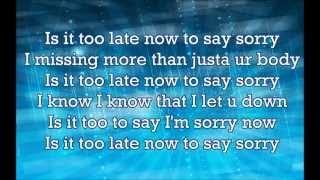 Justin Beiber - Sorry (Lyrics)