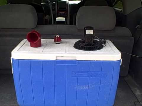 HOMEMADE AIR CONDITIONER EXPALINED. A LITTLE BETTER