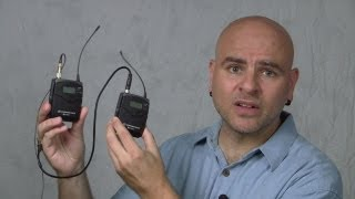 Wireless Lavalier Microphone for Video Beginners - Izzy Video 219