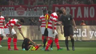 PS4 PES 2017 Gameplay Club Africain vs Esperance De Tunis HD