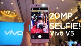 Vivo V5 - 20MP Front Camera First Impressions