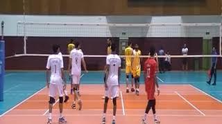 Pakistan Vs Oman Volleyball Friendly Match In Qatar 2017