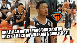 5'9 Yago Dos Santos DOESN'T BACK DOWN From ELITE Level US Competition!! | Brazilian Native Has Heart