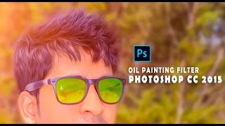 How to Install Oil Paint in Photoshop CC 2015 Tutorial