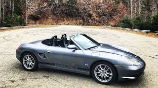 10 miles of Tail of the Dragon in a Porsche Boxster