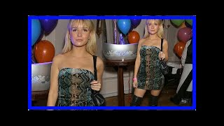 [Breaking News]Lottie Moss go my lawless braless at LFW event