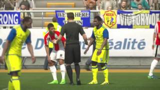 PS4 PES 2017 Gameplay KCCA FC vs FUS Rabat HD