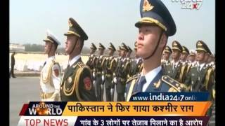 Pakistan organised parade on it national day celebration, China and Turkey army participated