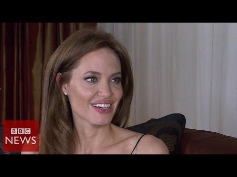 I have a very fortunate life Angelina Jolie BBC News