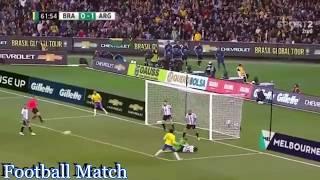 Brazil - Argentina 0-1 International Friendly Match All Goals & Full Highlights 09-06-17